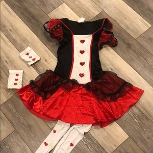 California Queen of Hearts Costume Worn Once